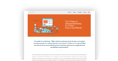 The 3 Pillars of Inbound Marketing for A High Converting Website