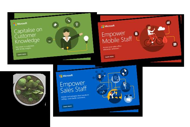 Wings4U Showcase -  Microsoft VP Sales Nurturing Campaign